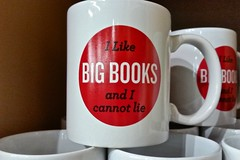 Books (Whistler Whatever) Tags: portland store funny or coffeemug playonwords powellsbooks bigbooks retain