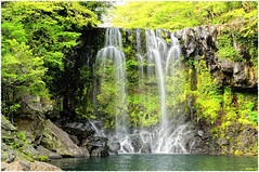 Cascada Cheonjeyeon (raktargy) Tags: waterfall nikon jeju cascada cheonjeyeon coreadelsur d300s