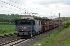 RWE Power 508 Adtranz / 33325 / 2000 / EL 2000 / Bo'Bo'-el  Frechen-Habbelrath 10-11-2013 (Alex Leroy) Tags: 2000 power el 508 rwe adtranz 33325 boboel frechenhabbelrath 10112013