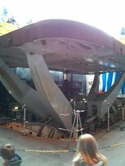 Aircraft lift (Al Henderson) Tags: london lift aircraft greenwich elevator navy royal battle atlantic carrier illustrious hms r06 flickrandroidapp:filter=none