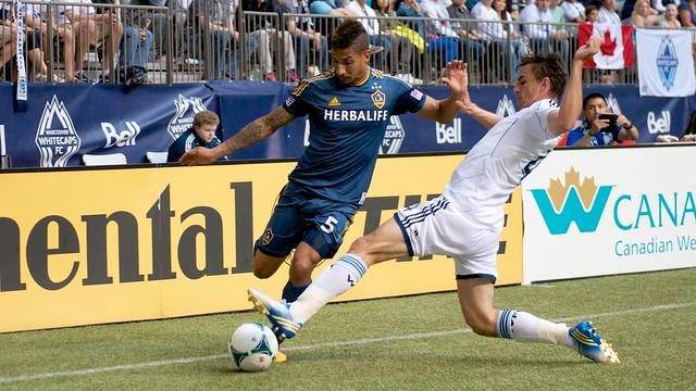 Vancouver Whitecaps - Alain Rochat vs LA Galaxy