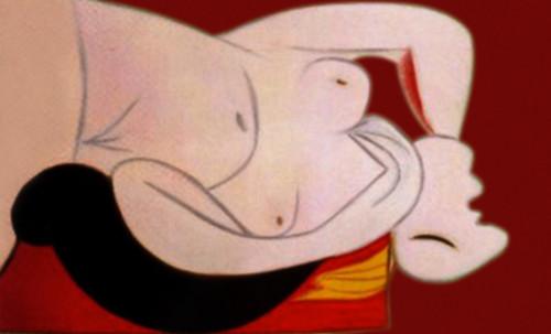 """Genealogía de las Soñantes, versiones de Lucas Cranach el Viejo (1534), Giorgione (1510), Tiziano Vecellio (1524), Nicolas Poussin (1625), Jean Auguste Ingres (1864), Amadeo Modigliani (1919), Pablo Picasso (1920), (1954), (1955), (1961). • <a style=""""font-size:0.8em;"""" href=""""http://www.flickr.com/photos/30735181@N00/8746828621/"""" target=""""_blank"""">View on Flickr</a>"""