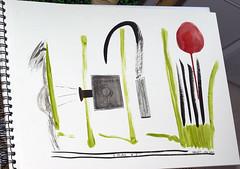 Première prise (Jérôme Vallet) Tags: film photographie plan crayon papier storyboard jv encre acrylique fuly premièreprise jeromevallet