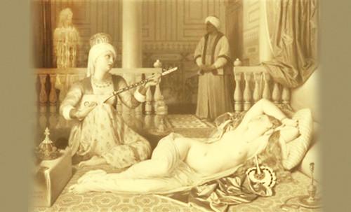 """Genealogía de las Soñantes, versiones de Lucas Cranach el Viejo (1534), Giorgione (1510), Tiziano Vecellio (1524), Nicolas Poussin (1625), Jean Auguste Ingres (1864), Amadeo Modigliani (1919), Pablo Picasso (1920), (1954), (1955), (1961). • <a style=""""font-size:0.8em;"""" href=""""http://www.flickr.com/photos/30735181@N00/8747944656/"""" target=""""_blank"""">View on Flickr</a>"""