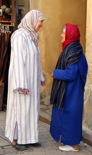Talking In The Souk