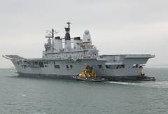 Farewell to Ark Royal (John Ambler) Tags: leaves last turkey for time harbour being aircraft navy royal portsmouth former aircraftcarrier ark arkroyal scrap carrier hms towed royalnavy