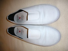 worn shoes (stevsoll) Tags: shoes sneakers trainers worn plimsolls daps plimsoles