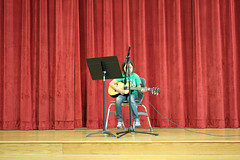 Rocking the guitar recital (happykatie) Tags: concert guitar daughter ella guitarrecital