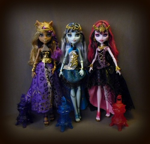 13 Wishes Clawdeen, Frankie and Draculaura