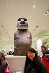 Hoa Hankananai'a @ The British Museum | London, England (apwong) Tags: uk england london unitedkingdom britishmuseum moai easterisland hoahankananaia