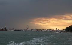 Venise un soir d'orage, depuis le Lido IMG_2852 (6franc6) Tags: soleil coucher venise venezia italie 6franc6