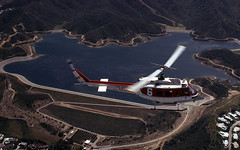 Fire 6 over Lake Hollywood