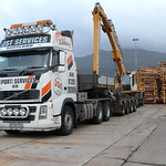 JST Services Volvo FH16 agus Liebherr A 924 C Litronic thumbnail