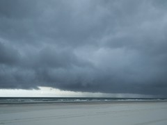 thunderstorm over south anastasia island, 13 july 2013 (amy32080) Tags: ocean beach clouds florida crescentbeach storms thunderstorms anastasiaisland 32080