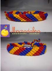 Colombia Tricolor (Macradabra) Tags: colombia bracelet tricolor macram brazaletes macradabra
