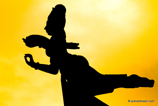 Silhouette Of A Savior, At The Sanctuary Of Truth, Pattaya