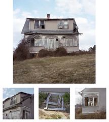 (Lesley Rivera) Tags: house abandoned film landscape kodak details baltimore portra