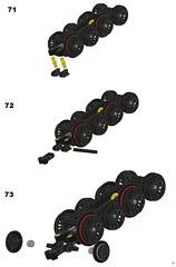 LEGO Union Pacific Big Boy instructions (RS 1990) Tags: building train construction model lego cab wheels steps loco steam creation unionpacific instructions locomotive boiler bigboy tender bogie mlcad moc jayhurst