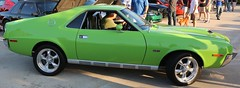 1970 AMX (Bill Jacomet) Tags: green cars coffee big texas bad houston motors american and 1970 70 amx javelin 2013