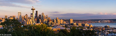 Seattle Sunset (renan4) Tags: seattle city sunset colors skyline nikon cityscape view kerrypark nikkor washingtonstate renan panoram d800 gicquel renan4 70200mmf4vr