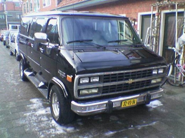 chevrolet van 1994 v8meetings