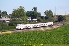idn2532 (ribot85) Tags: railroad train tren trenes rene trains railways 130 santander cantabria renfe talgo renedo alvia