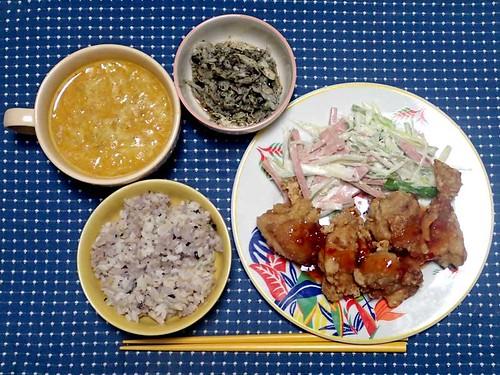 2013年9月30日の晩ご飯