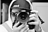 selfie (damonabnormal) Tags: blackandwhite reflection philadelphia mirror nikon october pa philly phl selfie nocolor meandmycamera 2013 d7000