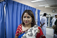 Arunthia Zaudu Urmi studied a Masters of Public Health at University of New South Wales after receiving a scholarship through AusAID's scholars programs. Arunthia Zaudu Urmi is now the manager of counselling & training in the HIV and AIDS unit at ICDDR,B.