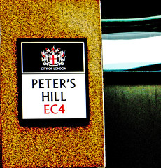 Peter's Hill EC4 (City of London) (EZTD) Tags: signs streets london photo foto photos photographic september photographs fotos signage roadsign streetsigns streetname cityoflondon petershill ec4 londonist fotograaf londonsigns photographes signcity 2013 streetnamesigns streetnameplates eztd eztdphotography september2013 photograaf londonstreetnameplates fotoseztd eztdphotos eztdgroup londonimagenetwork eztdlin