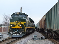 Getting that Erie feeling (Robby Gragg) Tags: chicago ns erie 1068 sd70ace cragin