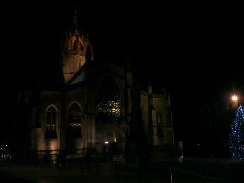 December night at St Giles