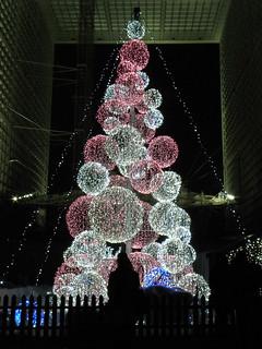 La Défense - Puteaux (92), illuminations 2011