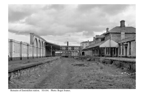 Enniskillen station remains. 10.4.64