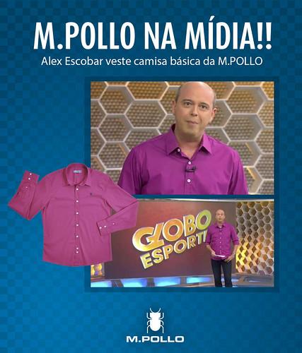 M.POLLO no Globo Esporte