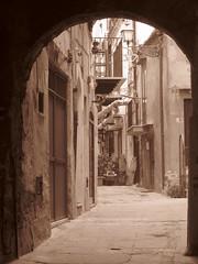 Vicoli (shotdavide) Tags: palermo vicolo citt monreale storico seppia sentieri flickrandroidapp:filter=none