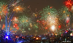 CITY FIREWORKS (AvijitNandy) Tags: