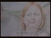 Niya, Vacation in Ireland // Redhead Project // (Rudie de Seijn) Tags: ireland red art girl smiling pencil project hair drawing young redhead portraiture portret meisje figurative roodharig freckled tekening potlood niya mc1r rdsart