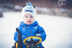 IMG_6899 (Gregory C. Photography) Tags: portrait baby snow playing cute nature boys face kids canon outdoors eos eyes babies faces bokeh smiles portraiture snowday 6d eos6d canon6d