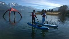 Glagla Race (widiwici) Tags: winter cold annecy race alpes paddle janvier sup lakeannecy widiwici glaglarace glalglarace