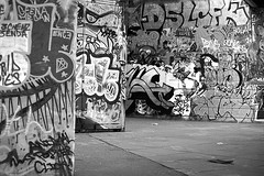 EVOLUTION OF EXPRESSION  (Mono Version) (DESPITE STRAIGHT LINES) Tags: city uk greatbritain morning england cloud london tourism kids youth writing fun graffiti nikon flickr day expression name id capital perspective streetphotography evolution tourist southbank gb skateboard getty identification nikkor slogan centrallondon adolescence selfexpression skateboardpark inthecity paulwilliams thesouthbank nikon75300mm d700 signyourname nikond700 londonssouthbank graffitiasart graffitionawall despitestraightlines ilobsterit theskateboardarenalondon theskateboardparklondon theartistryofgraffiti