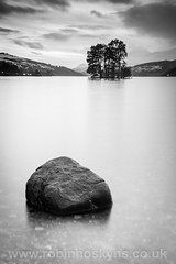 Grey Day at Loch Tay ([[BIOSPHERE]]) Tags: uk longexposure lake tree water scotland lochtay