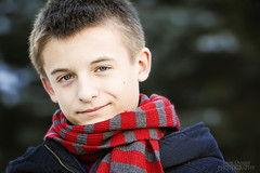 Mr. Blue Eyes (Jenny Onsager) Tags: winter portrait kids scarf portraits canon blueeye fourteen winterportrait mrblueeyes mygearandme mygearandmepremium mygearandmebronze mygearandmesilver mygearandmegold jennyonsager infinitexposure
