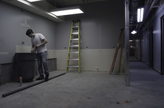 Ladder (Garrett M. Campbell) Tags: color night dark alone dream manipulation story series lonely awake narrative ecu rive