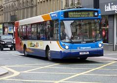 22484 - T484 BNL (Cammies Transport Photography) Tags: street man bus newcastle drive hall coach view via 300 alexander dennis 36 stagecoach in fenham grainger 22484 whickham t484bnl