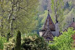 Bursins, Vaud, Switzerland (photoriel) Tags: urban house castle church architecture switzerland spring village vaud lacôte bursins qualitystructuresppf