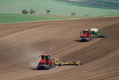 Case IH Quadtrac 600 in seedbed preparation and seeding (Case IH Europe) Tags: tractor farm farming tracks case 600 agriculture cultivation ih caseih quadtrac