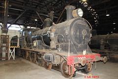 3203 (LC1073) Tags: c32 steamlocomotive steamloco broadmeadow 3203 pclass nswgr 32class broadmeadowloco broadmeadowlocodepot broadmeadowroundhouse