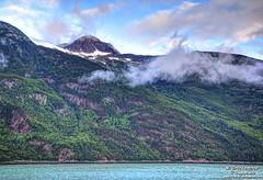 Aquamarine colored water of the Stephens Passage fjords (PhotosToArtByMike) Tags: alaska ak fjords stephenspassage alexanderarchipelago