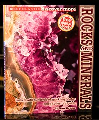 Rocks and Minerals (Vernon Barford School Library) Tags: new school green dan rock reading book high rocks library libraries reads books read paperback more cover minerals junior mineral covers bookcover middle vernon gems recent gem bookcovers nonfiction paperbacks discover scholastic barford softcover vernonbarford softcovers 9780545505116